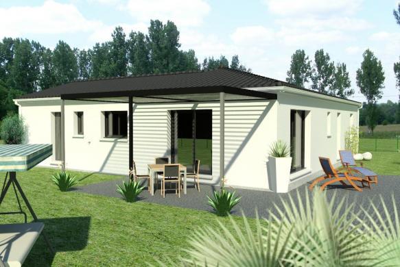 Maison+Terrain à vendre .(90 m²)(BOURCEFRANC LE CHAPUS) avec (BERMAX CONSTRUCTION)