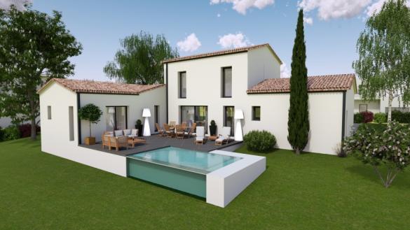 Maison+Terrain à vendre .(130 m²)(BOURCEFRANC LE CHAPUS) avec (BERMAX CONSTRUCTION)