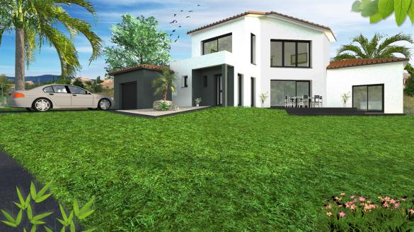 Maison+Terrain à vendre .(140 m²)(GRAGNAGUE) avec (VILLAS SUD CREATION)