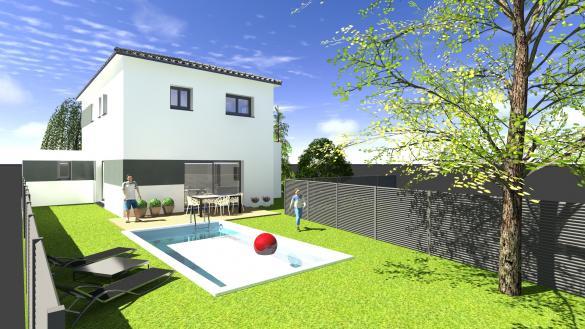 Maison+Terrain à vendre .(130 m²)(PECHBUSQUE) avec (VILLAS SUD CREATION)