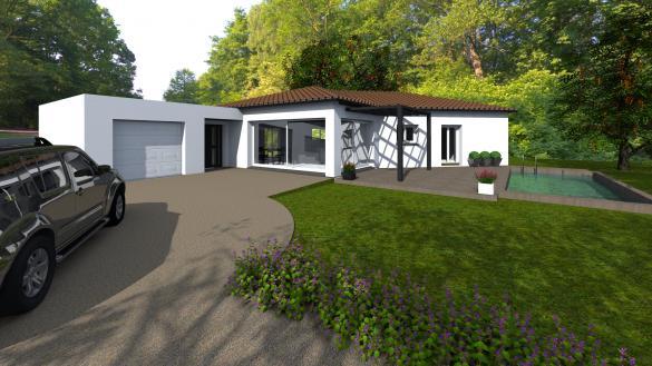 Maison+Terrain à vendre .(125 m²)(COLOMIERS) avec (SAS VILLAS SUD CREATION)