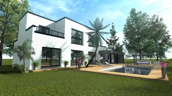 Maison+Terrain à vendre .(160 m²)(TOURNEFEUILLE) avec (SAS VILLAS SUD CREATION)