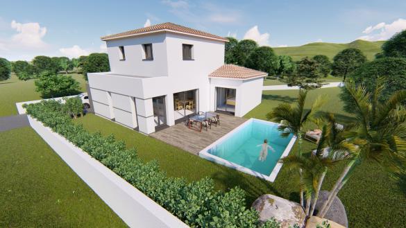 Maison+Terrain à vendre .(125 m²)(CASTANET TOLOSAN) avec (SAS VILLAS SUD CREATION)
