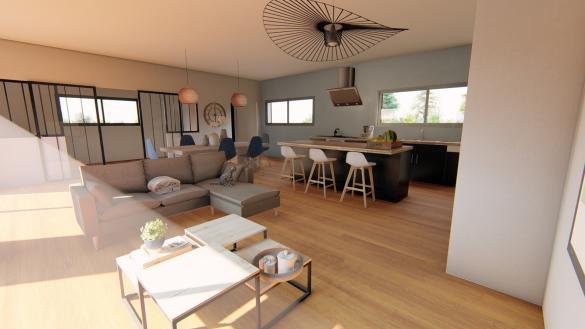 Maison+Terrain à vendre .(177 m²)(BELBERAUD) avec (SAS VILLAS SUD CREATION)