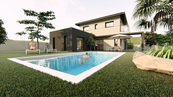 Maison+Terrain à vendre .(156 m²)(GRENADE) avec (VILLAS SUD CREATION)