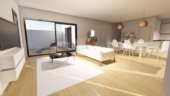 Maison+Terrain à vendre .(146 m²)(AUSSONNE) avec (VILLAS SUD CREATION)