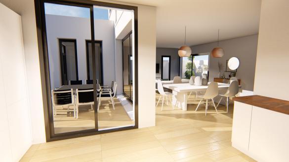 Maison+Terrain à vendre .(146 m²)(AUSSONNE) avec (SAS VILLAS SUD CREATION)