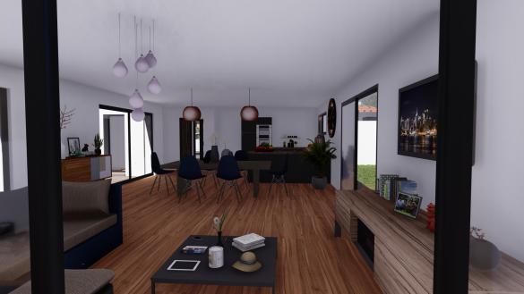 Maison+Terrain à vendre .(130 m²)(LE FAUGA) avec (SAS VILLAS SUD CREATION)