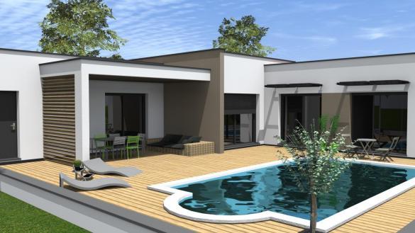 Maison à vendre .(110 m²)(IDRON OUSSE SENDETS) avec (MAISONS CONFORECO)
