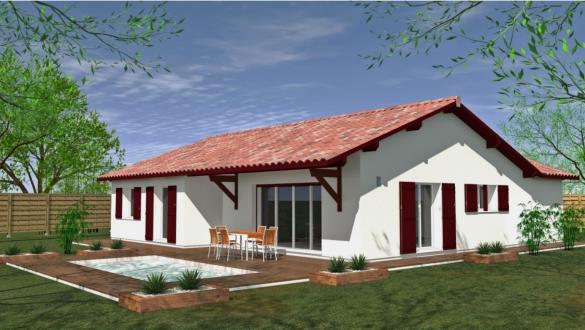 Maison à vendre .(113 m²)(ARCANGUES) avec (MAISONS CONFORECO)