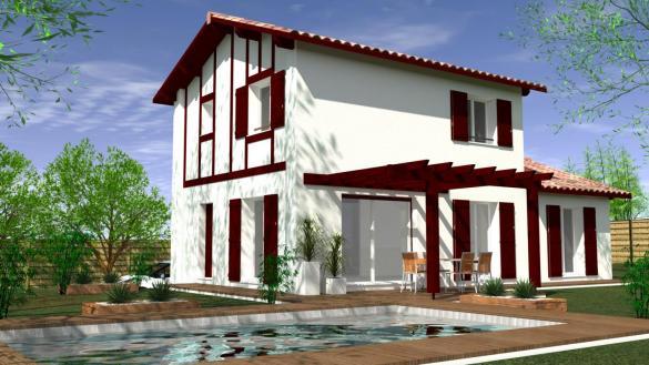 Maison à vendre .(105 m²)(ESPELETTE) avec (MAISONS CONFORECO)