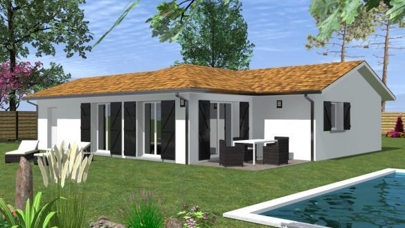 Maison à vendre .(85 m²)(LABATUT) avec (MAISONS CONFORECO)