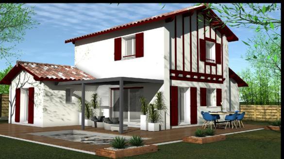 Maison à vendre .(95 m²)(VILLEFRANQUE) avec (MAISONS CONFORECO - AGENCE MONT DE MARSAN)