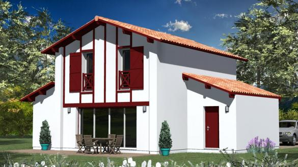 Maison à vendre .(100 m²)(VILLEFRANQUE) avec (MAISONS CONFORECO - AGENCE MONT DE MARSAN)