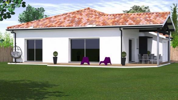 Maison à vendre .(91 m²)(YCHOUX) avec (MAISONS CONFORECO)
