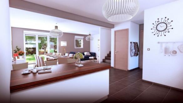Maison à vendre .(100 m²)(FESSENHEIM) avec (HOMELINES)