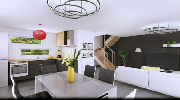 Maison à vendre .(90 m²)(MUESPACH LE HAUT) avec (HOMELINES)