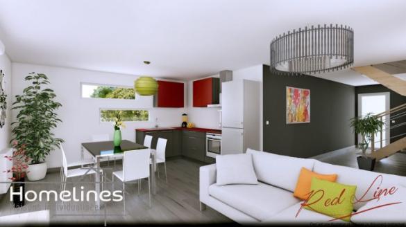 Maison à vendre .(90 m²)(FESSENHEIM) avec (HOMELINES)
