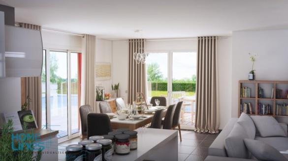 Maison à vendre .(130 m²)(ZILLISHEIM) avec (HOMELINES)