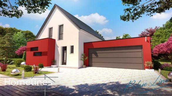 Maison à vendre .(110 m²)(SOULTZ HAUT RHIN) avec (HOMELINES)