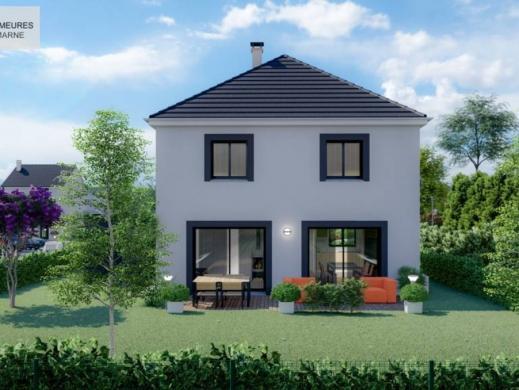 Terrain à vendre .(544 m²)(COURPALAY) avec (LES DEMEURES DE LA MARNE)
