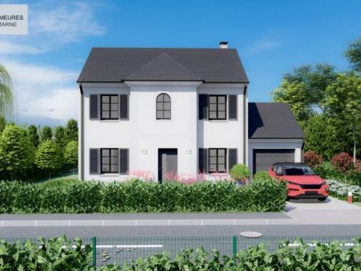 Maison à vendre .(110 m²)(GANDELU) avec (LES DEMEURES DE LA MARNE)