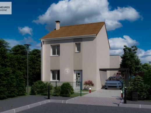 Maison à vendre .(76 m²)(JOUARRE) avec (LES DEMEURES DE LA MARNE)