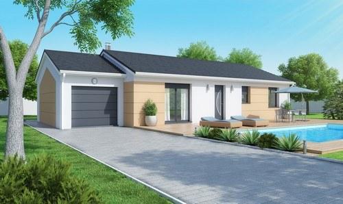 Maison+Terrain à vendre .(110 m²)(FLEURIE) avec (MAISONS D EN FRANCE CHARNAY LES MACON)