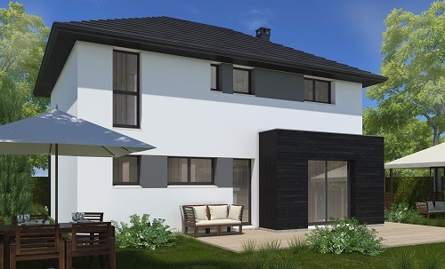 Maison+Terrain à vendre .(113 m²)(VIGNEUX SUR SEINE) avec (MAISONS.COM)