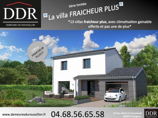 Maison+Terrain à vendre .(110 m²)(PORT LA NOUVELLE) avec (DEMEURES DU ROUSSILLON)
