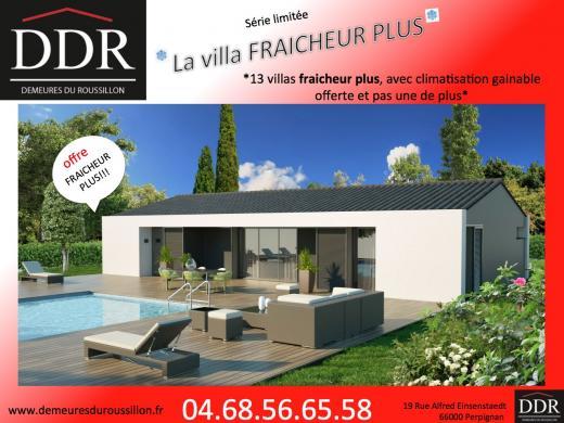 Maison+Terrain à vendre .(60 m²)(PEZILLA LA RIVIERE) avec (DEMEURES DU ROUSSILLON)
