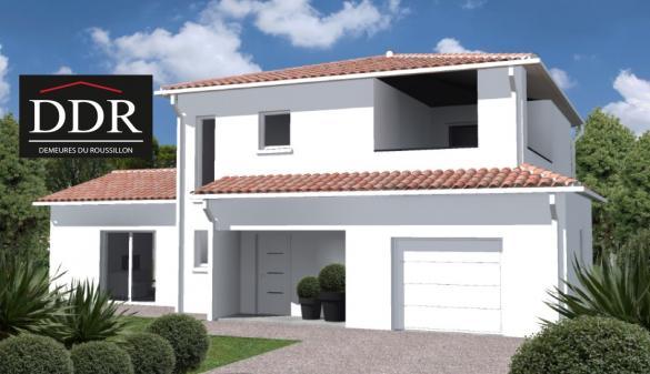 Maison+Terrain à vendre .(110 m²)(PRADES) avec (DEMEURES DU ROUSSILLON)