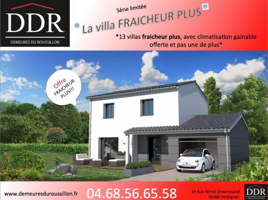 Maison+Terrain à vendre .(150 m²)(CABESTANY) avec (DEMEURES DU ROUSSILLON)