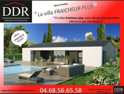 Maison+Terrain à vendre .(80 m²)(MONTESQUIEU DES ALBERES) avec (DEMEURES DU ROUSSILLON)