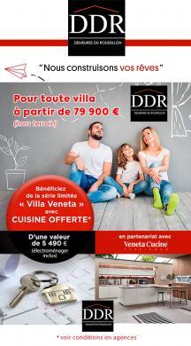 Maison+Terrain à vendre .(100 m²)(LAROQUE DES ALBERES) avec (DEMEURES DU ROUSSILLON)