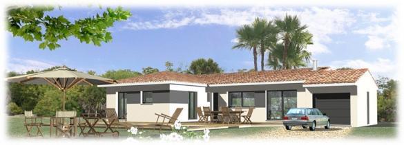 Maison+Terrain à vendre .(150 m²)(PUYLOUBIER) avec (MAISONS BLANCHE)
