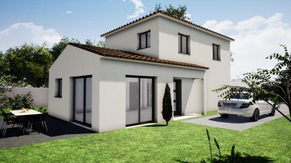 Maison à vendre .(110 m²)(CHATEAU GOMBERT) avec (TRADITION LOGIS PACA)