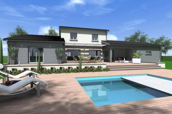 Maison à vendre .(130 m²)(AUBAGNE) avec (TRADITION LOGIS PACA)