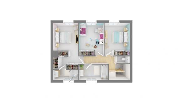 Maison+Terrain à vendre .(130 m²)(VILLENEUVE LES BOULOC) avec (MAISONS FRANCE CONFORT)