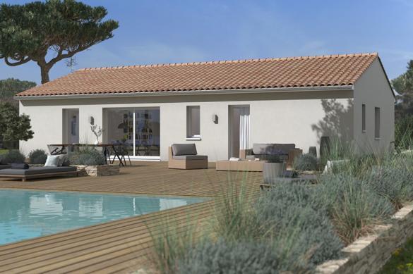 Maison+Terrain à vendre .(90 m²)(SAINT GENIES BELLEVUE) avec (MAISONS FRANCE CONFORT)