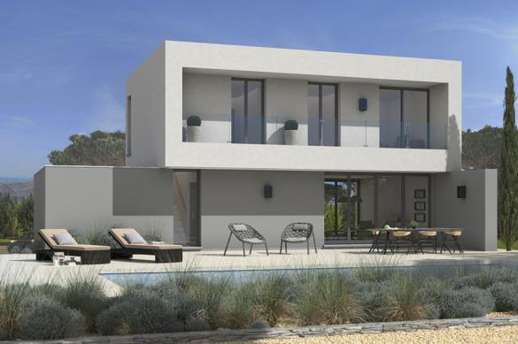 Maison+Terrain à vendre .(100 m²)(BRUGUIERES) avec (MAISONS FRANCE CONFORT)