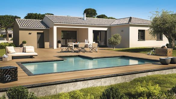 Maison+Terrain à vendre .(130 m²)(LE CASTELLET) avec (LES MAISONS DE MANON)