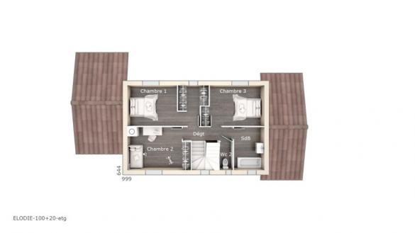 Maison+Terrain à vendre .(100 m²)(SIX FOURS LES PLAGES) avec (LES MAISONS DE MANON)