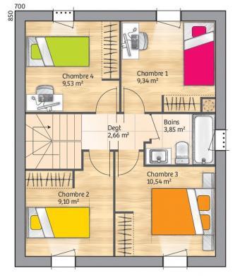 Maison+Terrain à vendre .(95 m²)(LE CASTELLET) avec (LES MAISONS DE MANON)