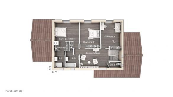 Maison+Terrain à vendre .(160 m²)(LE BEAUSSET) avec (LES MAISONS DE MANON)