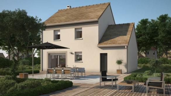 Maison+Terrain à vendre .(74 m²)(LUCHY) avec (MAISONS FRANCE CONFORT)