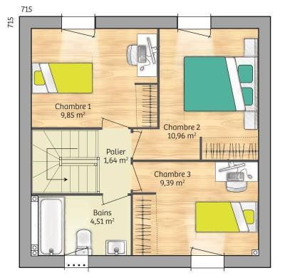 Maison+Terrain à vendre .(74 m²)(LA NEUVILLE EN HEZ) avec (MAISONS FRANCE CONFORT)