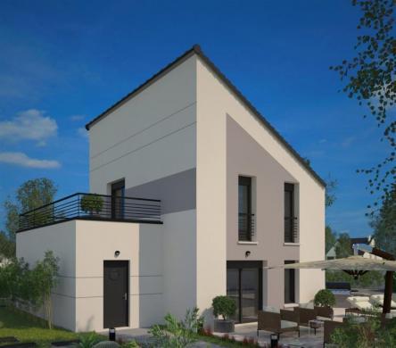Maison+Terrain à vendre .(100 m²)(BADEVEL) avec (MAISONS FRANCE CONFORT)