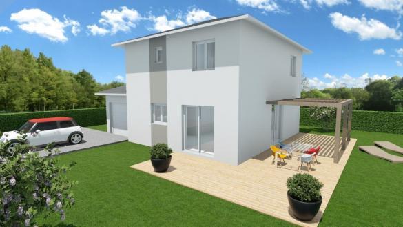 Maison+Terrain à vendre .(90 m²)(APPRIEU) avec (MAISONS FRANCE CONFORT)
