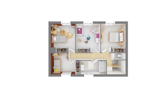 Maison+Terrain à vendre .(145 m²)(FREJUS) avec (MAISONS FRANCE CONFORT)